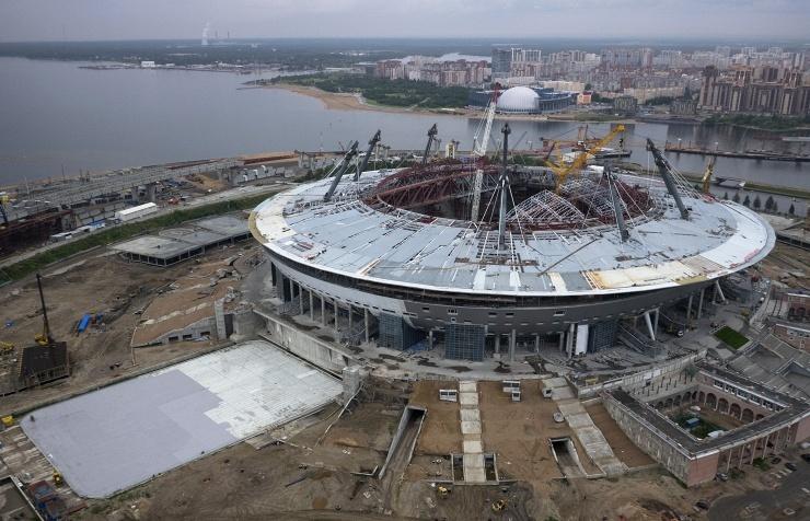 стадионаЗенит-Арена-на-Крестовском-острове