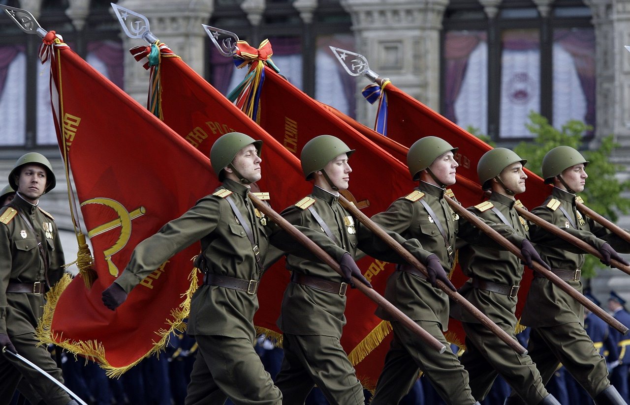 Moscow's Annual Victory Parade In Red Square