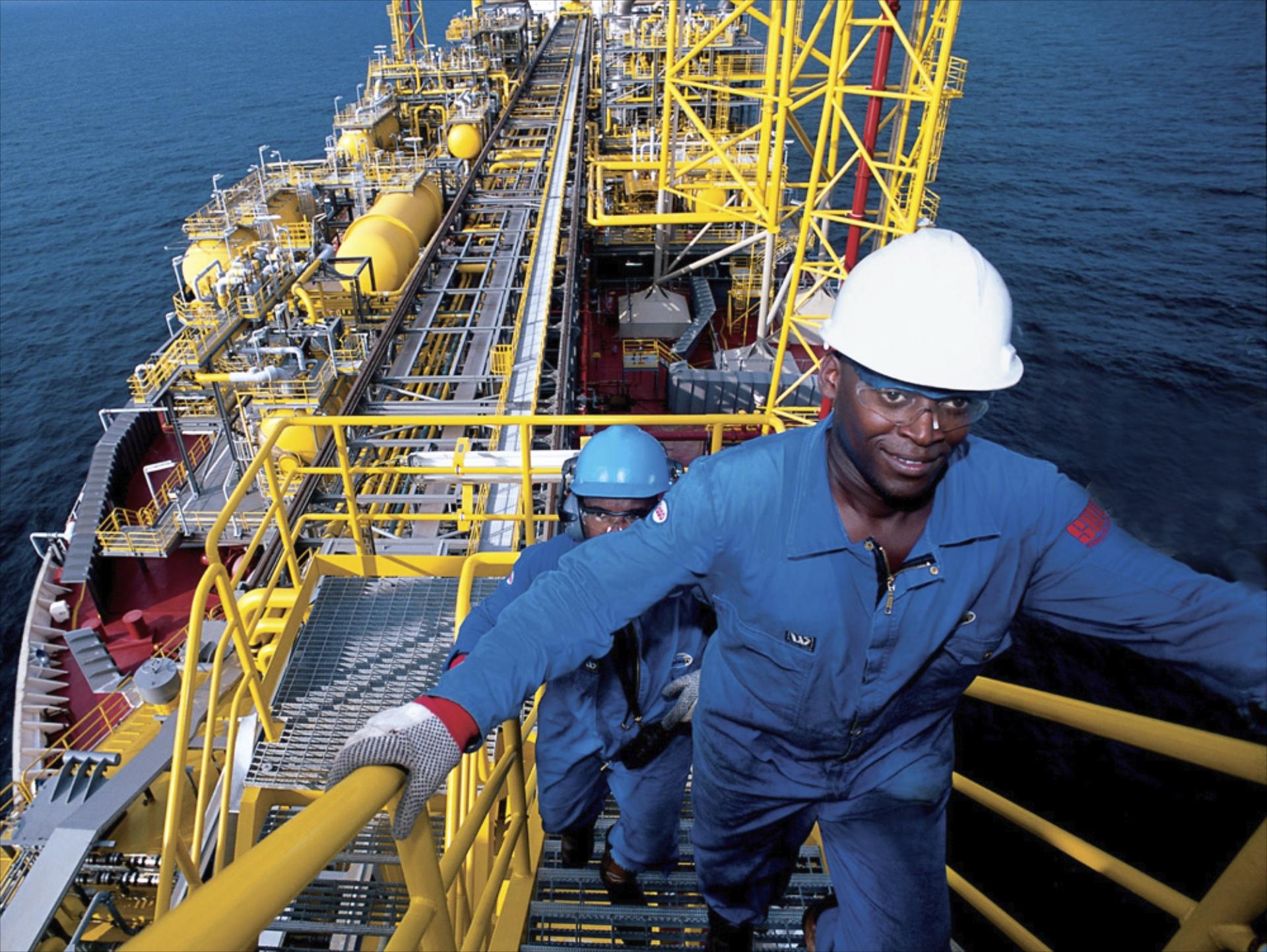 film oil rig