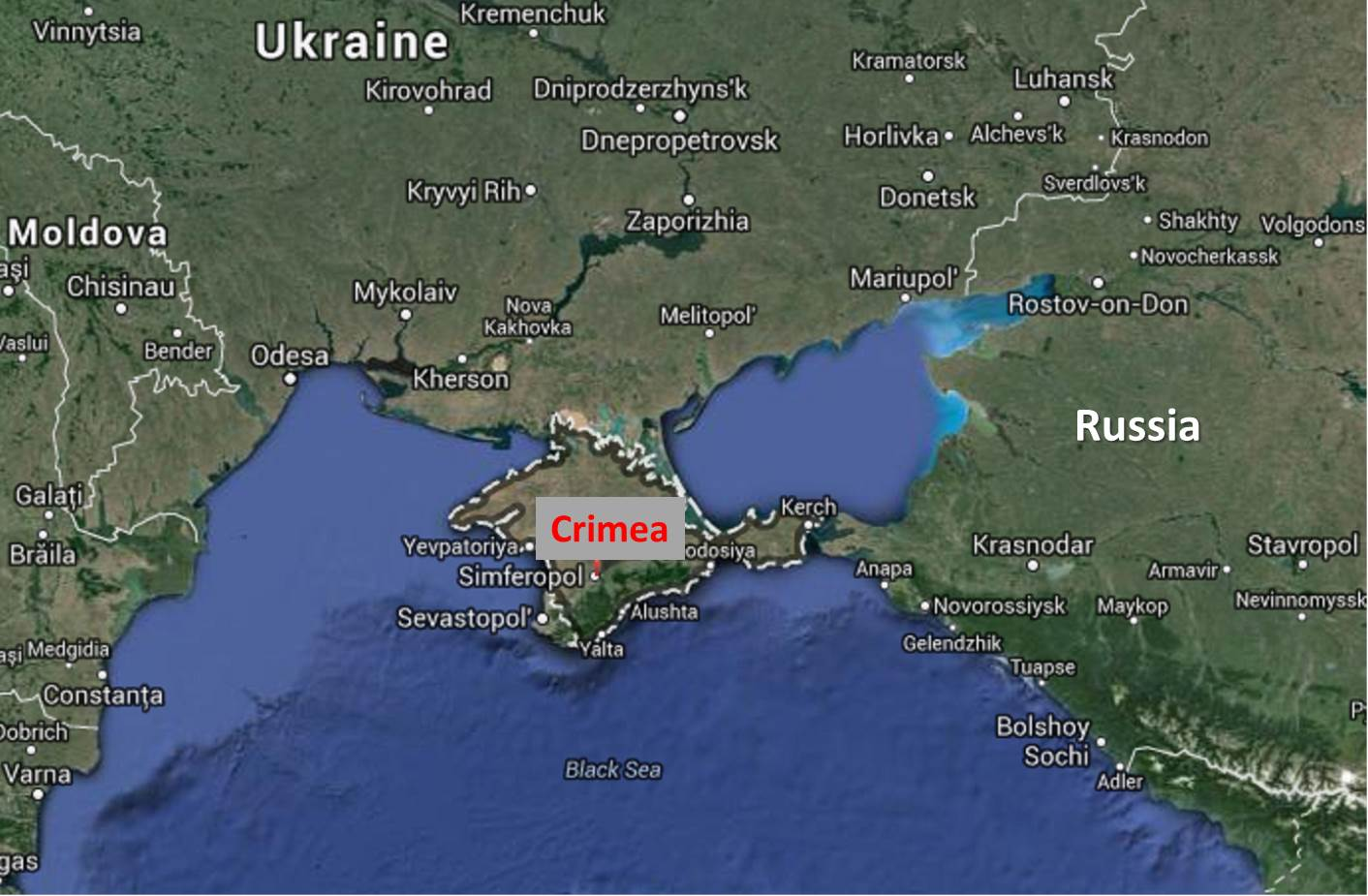 Russian Pressure Forces Google to Return Crimea Names Russia Now