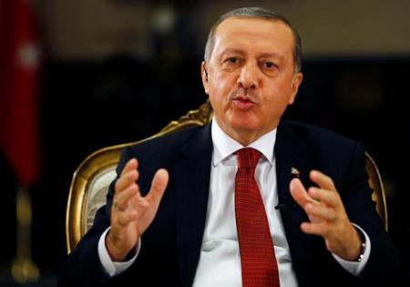 الرئيس التركي رجب طيب ارودغان في انقرة يوم 21 يوليو تموز 2016. تصوير: أوميت بكطاش - رويترز