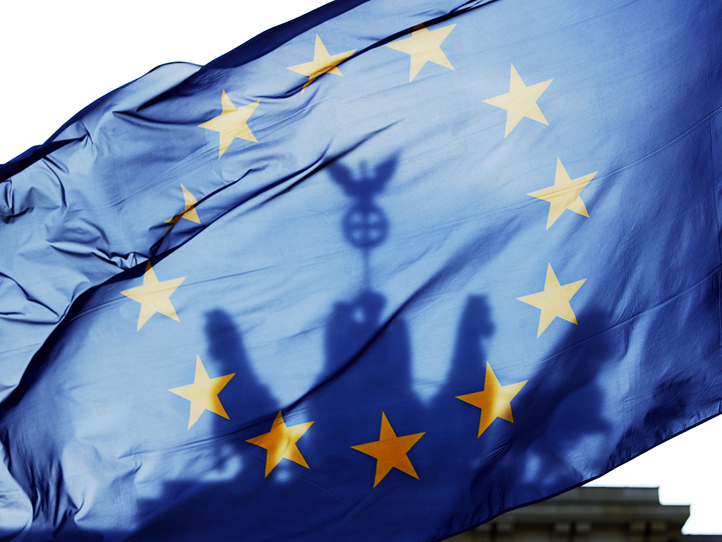 EU-flag-Berlin EU Germany