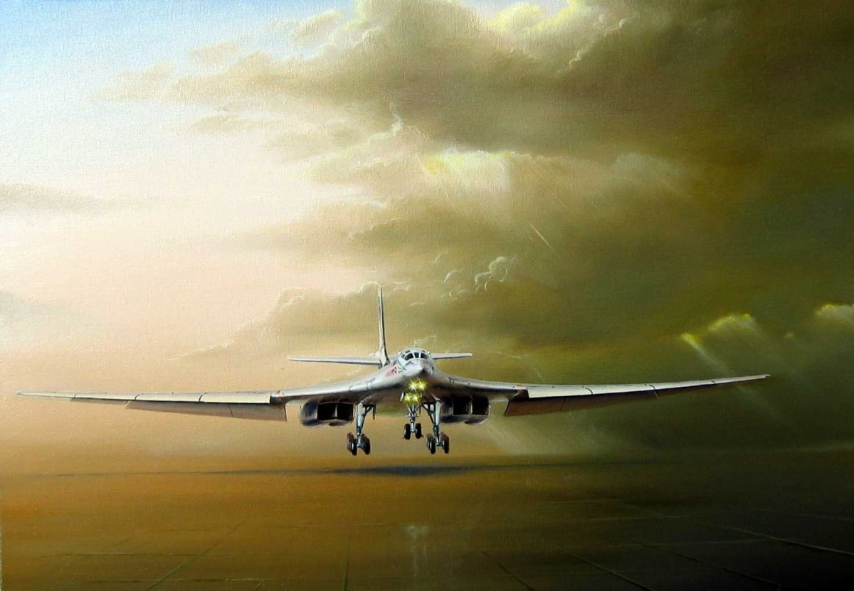 Russian strategic bomber