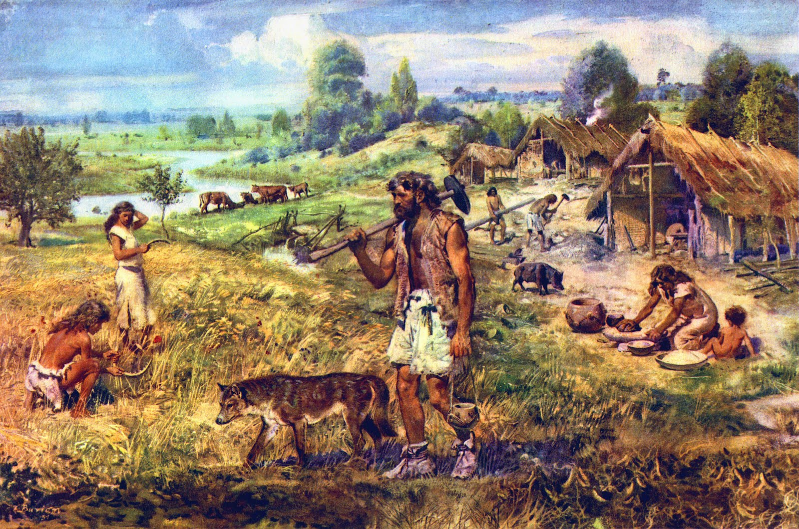 the importance of ancient and prehistoric art to todays society
