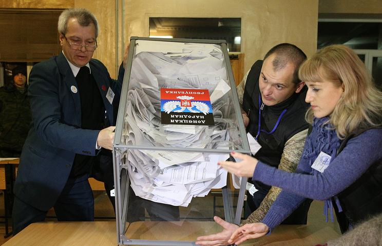 России широкий результаты предварительных выборов на донбассе должно плотно