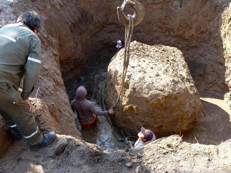 найден второй по массе метеорит на земле этом
