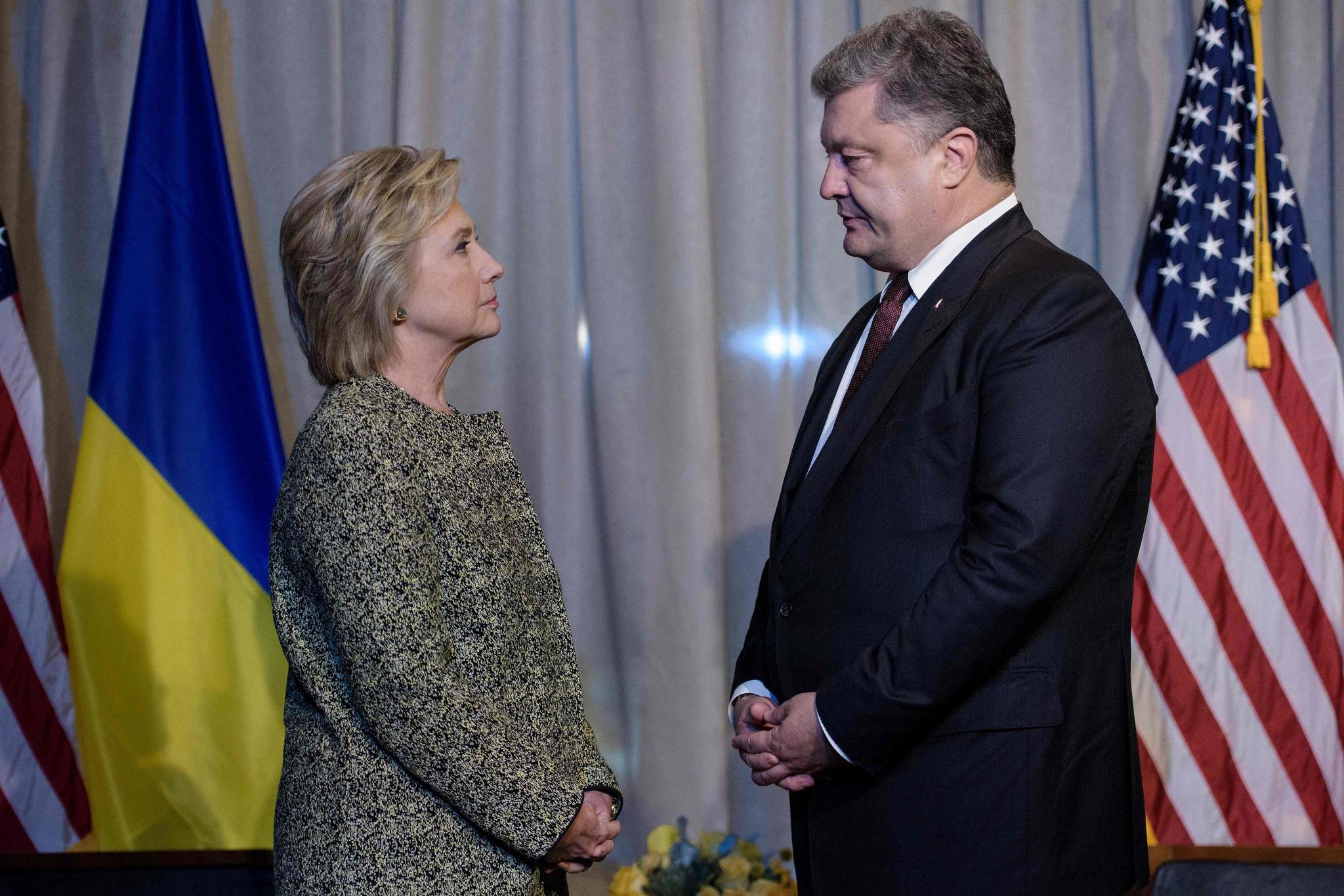 la-pol-us-ukraine-politics-vote-democrats-clinton-20160919