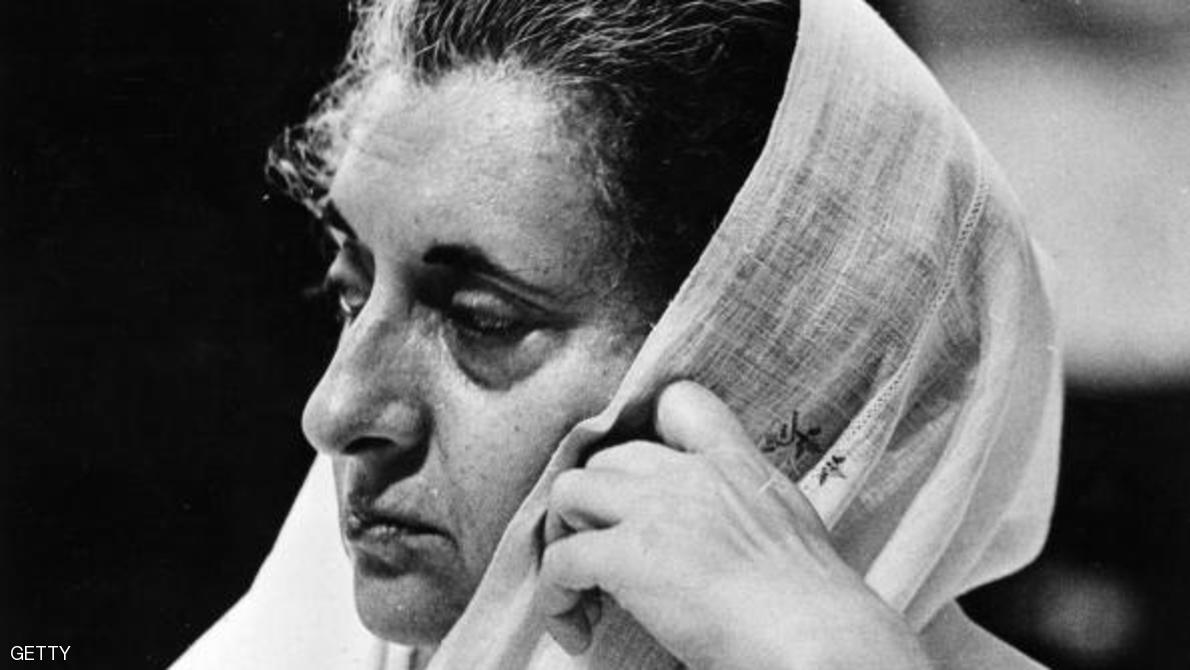 13th January 1971:  Indira Gandhi (1917 - 1984), Prime Minister of India.  (Photo by Fox Photos/Getty Images)