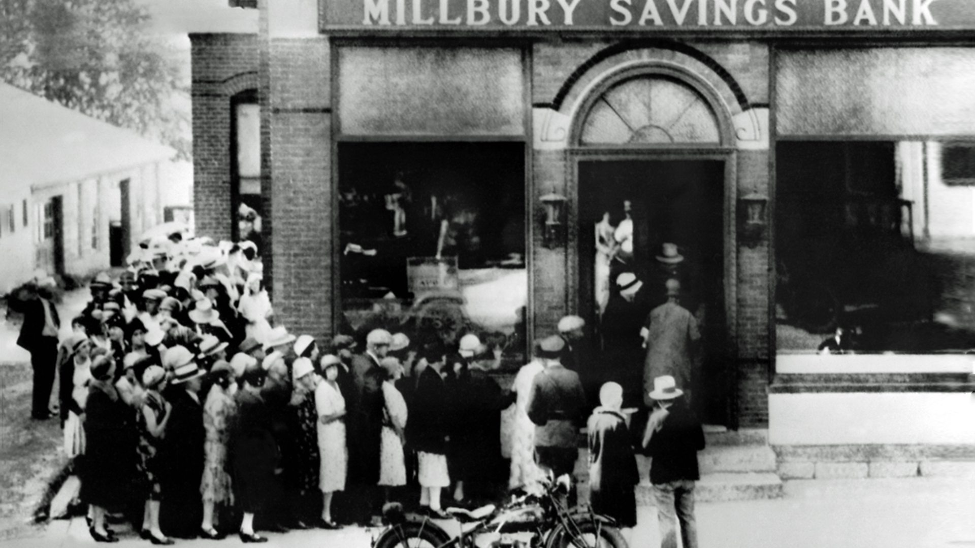 account of the spark of the great depression in america