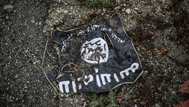 ISIS-torn-flag