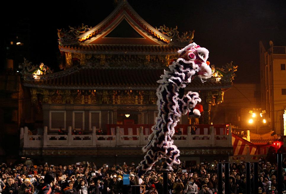 Время китайского нового года