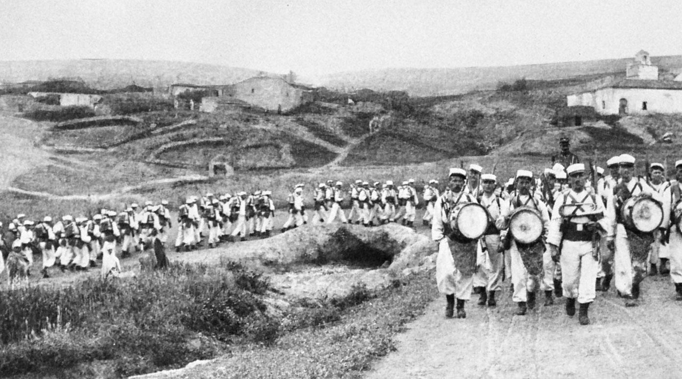 legion-marching