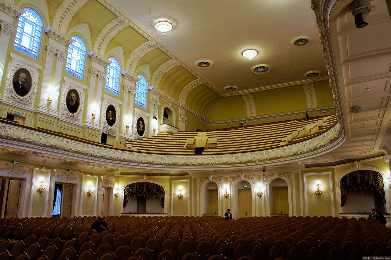The Great Hall of the Moscow Conservatory