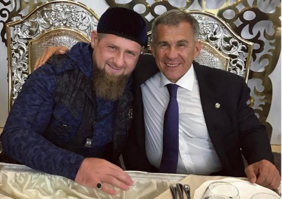 Фото из Instagram Рамзана Кадырова подписано «С Братом.