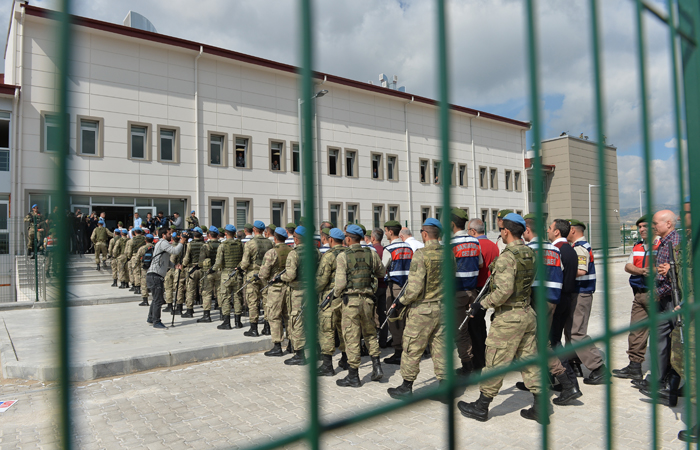 Trial for attempted coup d'etat participants in Turkey