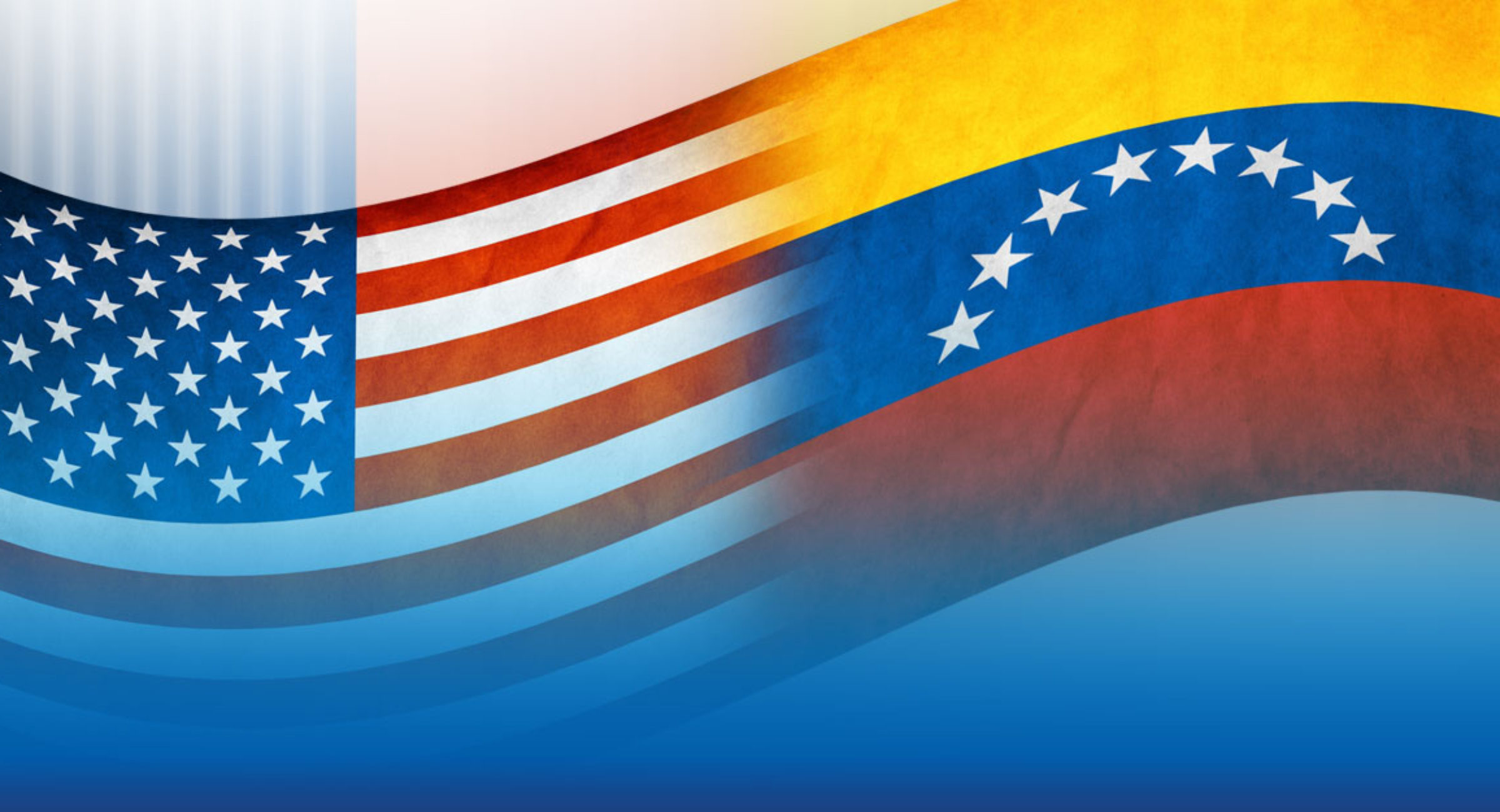 venezuela-usa-flags