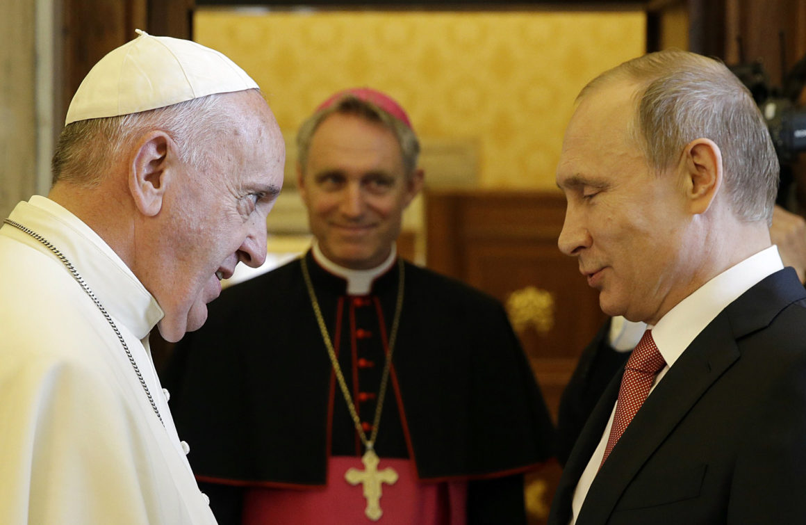 VATICAN-POPE-RUSSIA