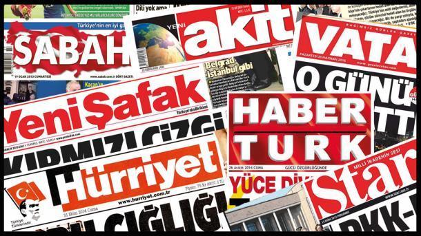 صحف-تركية